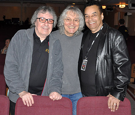 Bill Wyman, Albert Lee and Gary US Bonds