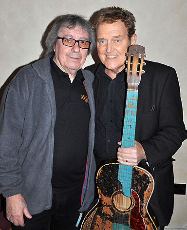 Bill Wyman and Alvin Stardust