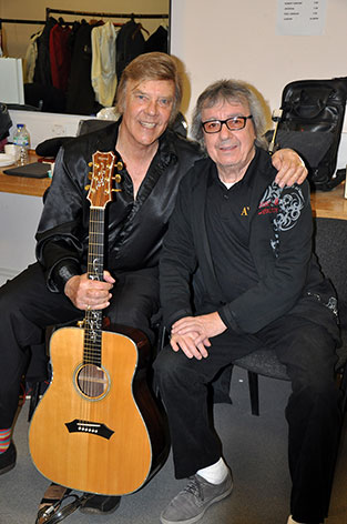 Marty Wilde and Bill Wyman