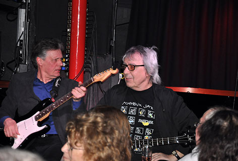 Bill Wyman and Terry Taylor