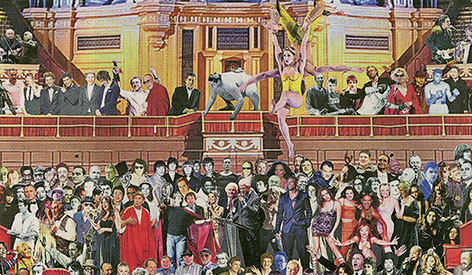 Sir Peter Blake S Appearing At The Albert Hall Gallery