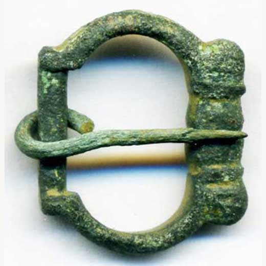 Buckle dated 1250-1350