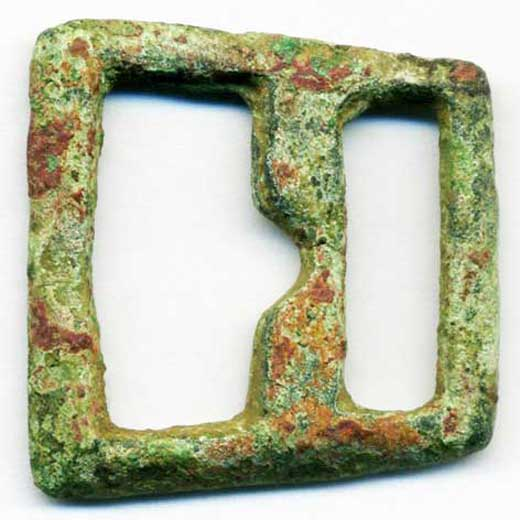 Buckle dated 1350