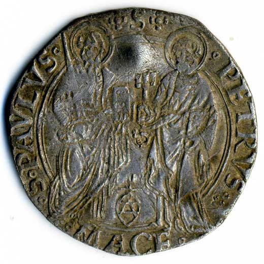 Papal Coin (1484-1492)