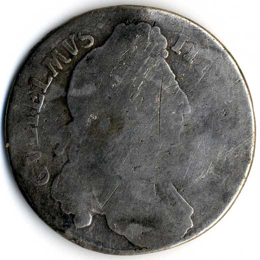 William III Shilling (1689-1702)