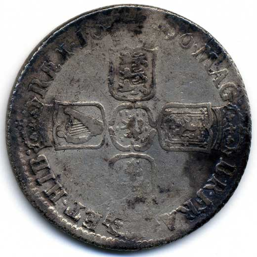 William III Shilling (1696)