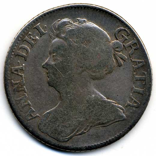 Queen Anne Shilling (1709)
