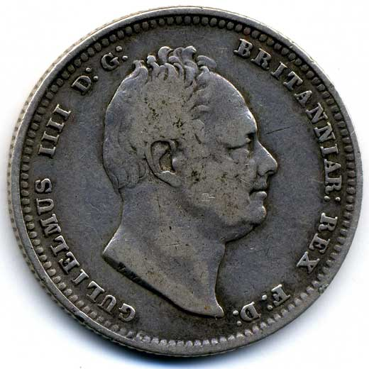 William IV Shilling (1836)
