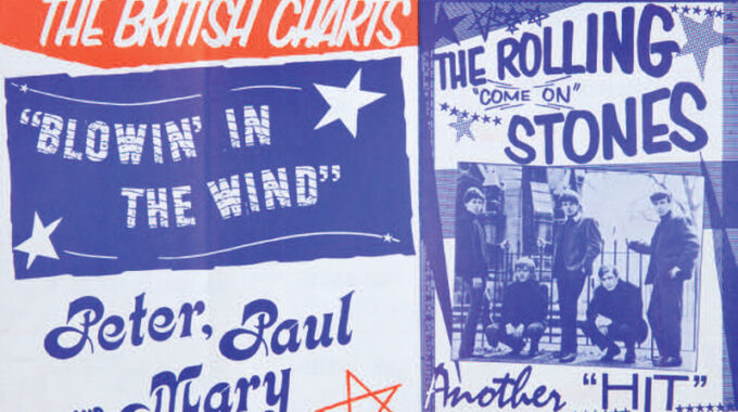 Early Rolling Stones Publicity Flyer