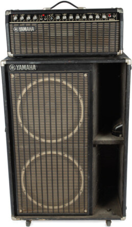 Bill Wyman Yamaha G100 Mark 2 amp with Yamaha S215 bass speaker cabinet - image 1
