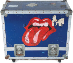 Bill Wyman road case with Rolling Stones tongue logo - image 1