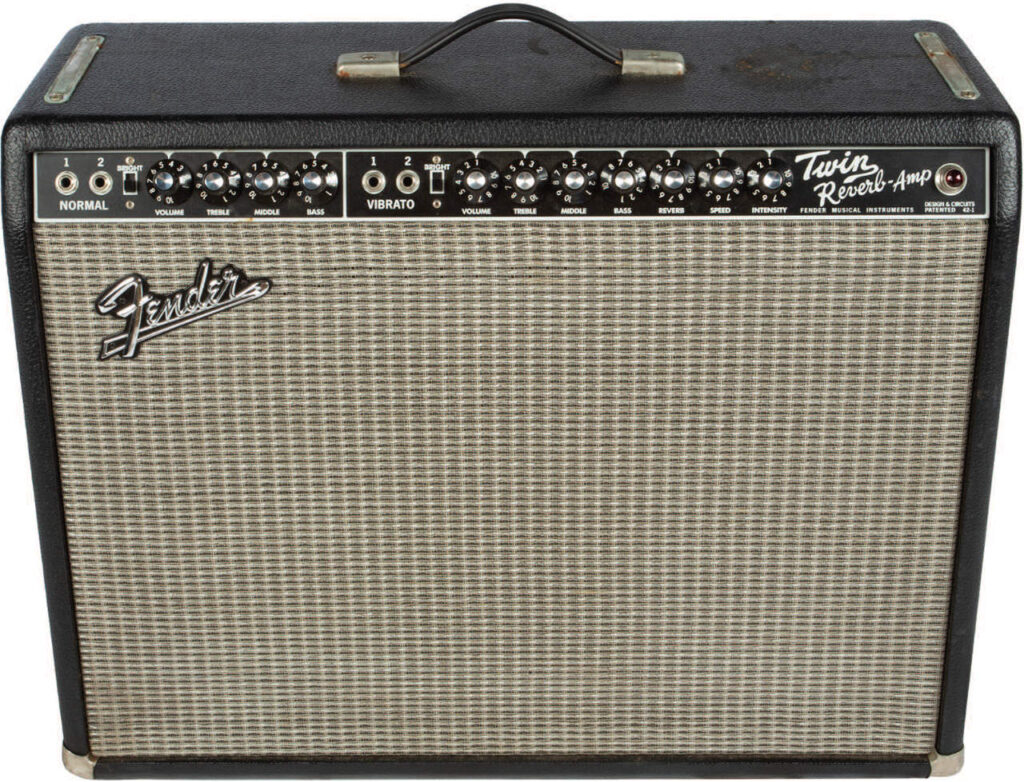 Bill Wyman Fender Twin Reverb Reissue Amplifier in Case - image 1