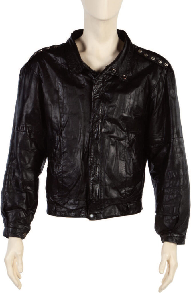 Rolling Stones Leather Stage Jacket